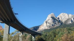 Saut à l'élastique-Barcelone-Bridge Jumping in Saldes near Barcelona-2