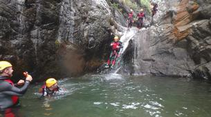Canyoning-Nuria-Canyoning at Lower Nuria Gorges near Nuria-3