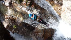 Canyoning-Gèdre-Canyon de la Caouba du Maillet à Gèdre, Hautes-Pyrénées-6