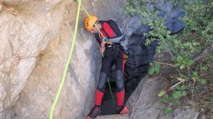 Canyoning-Barcelona-Forat Negre canyon near Barcelona-3