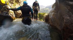 Canyoning-Gèdre-Canyon de la Caouba du Maillet à Gèdre, Hautes-Pyrénées-5