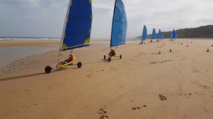 Char à Voile-Omaha Beach-Session Char à Voile à Omaha Beach, Normandie-1