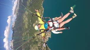 Parapente-Annecy-Paragliding tandem flight above Annecy lake-6