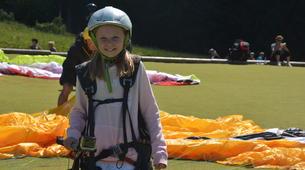 Parapente-Annecy-Paragliding tandem flight above Annecy lake-3