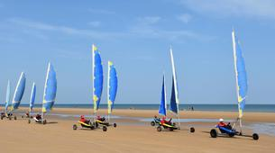 Char à Voile-Omaha Beach-Session Char à Voile à Omaha Beach, Normandie-6