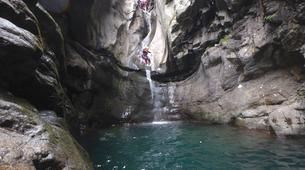 Canyoning-Nuria-Canyoning at Lower Nuria Gorges near Nuria-1