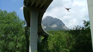 Saut à l'élastique-Barcelone-Bridge Jumping in Saldes near Barcelona-1