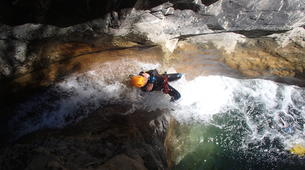 Barranquismo-Niza-Canyon of Cramassouri near Nice-1