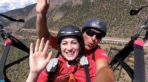 Paragliding-Delphi-Tandem paragliding flight in Delphi, Greece-4