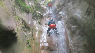 Barranquismo-Niza-Imberguet canyon near Nice-4
