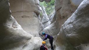 Barranquismo-Niza-Canyon of Riolan near Nice-2
