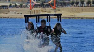 Parachute ascensionnel-Malte-Parasailing flight in Malta-6