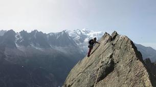 Rock climbing-Chamonix Mont-Blanc-Discover multi-pitch climbing in Vallorcine-1