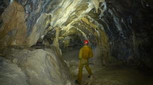 Spéléologie-Les Carroz, Le Grand Massif-Spéléologie dans la Grotte de Balme en Haute-Savoie-6