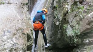 Barranquismo-Niza-Imberguet canyon near Nice-6