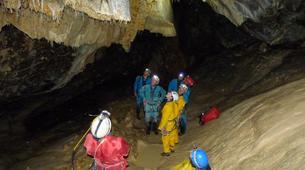 Spéléologie-Les Carroz, Le Grand Massif-Spéléologie dans la Grotte de Balme en Haute-Savoie-5