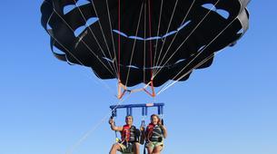Parachute ascensionnel-Malte-Parasailing flight in Malta-3