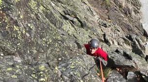 Rock climbing-Chamonix Mont-Blanc-Discover multi-pitch climbing in Vallorcine-5