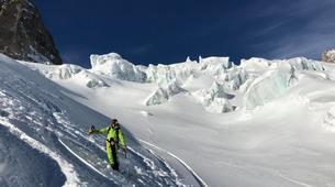Backcountry Skiing-Chamonix Mont-Blanc-Backcountry skiing day trip in the Mont Blanc Massif-4