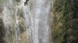 Barranquismo-Niza-Imberguet canyon near Nice-2
