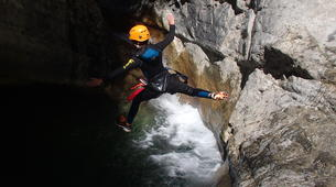 Barranquismo-Niza-Canyon of Cramassouri near Nice-2