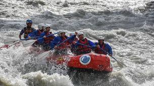 Rafting-Aosta Valley-Rafting auf dem Fluss Dora Baltea, Aostatal-6