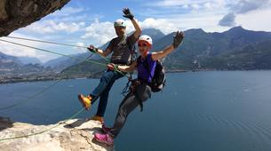 Via Ferrata-Lake Garda-Via Ferrata Balconi sul Garda above Lake Garda-2