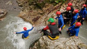 Canyoning-Kitzbühel-Canyoning Taxaklamm bei Kitzbühel-1