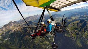 Ultraligeros-Annecy-Microlight first flight above Annecy-1