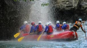 Rafting-Aosta Valley-Rafting auf dem Fluss Dora Baltea, Aostatal-5