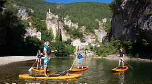 Stand up Paddle-Gorges du Tarn-Stand up paddle excursion in the Gorges du Tarn-1
