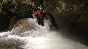 Canyoning-Lake Garda-Canyon of Rio Nero near Lake Garda-2
