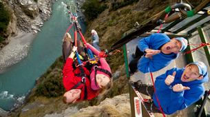 Bungee Jumping-Queenstown-Canyon Swing from 109 metres over Shotover Canyon-10