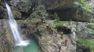 Canyoning-Lake Garda-Canyon of Rio Nero near Lake Garda-1