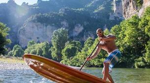 Stand up Paddle-Gorges du Tarn-Stand up paddle excursion in the Gorges du Tarn-2