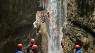 Canyoning-Kitzbühel-Canyoning Taxaklamm bei Kitzbühel-3
