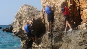 Coasteering-Chania-Coasteering in Chania, Crete-5