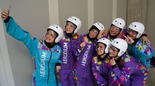 Freifallsimulator-Ljubljana-Indoor-Fallschirmspringen in Logatec bei Ljubljana, Slowenien-3