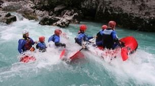 Rafting-Bovec-Rafting on the Soča River near Bovec-3