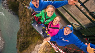 Bungee Jumping-Queenstown-Canyon Swing from 109 metres over Shotover Canyon-13