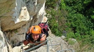Via Ferrata-Lake Garda-Via Ferrata Monte Albano, near Lake Garda-6