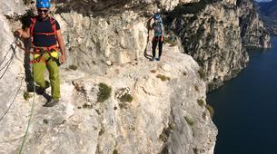 Via Ferrata-Lake Garda-Via Ferrata Balconi sul Garda above Lake Garda-4