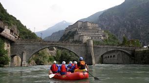 Rafting-Aosta Valley-Rafting auf dem Fluss Dora Baltea, Aostatal-2