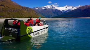 Lancha a Motor-Wanaka-Jet boating excursion and wilderness walk in Wanaka-6