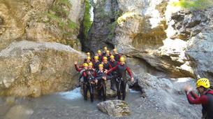 Canyoning-Kitzbühel-Canyoning Taxaklamm bei Kitzbühel-5