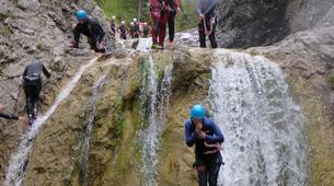 Canyoning-Zugspitze-Beginners canyon in Biberwier, close to the Zugspitz and Eibseee-1