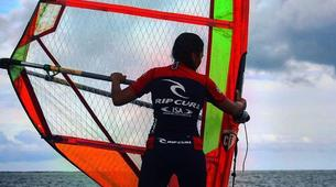 Windsurfing-Sanur-Beginner windsurfing lesson in Sanur-4