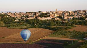 Montgolfière-Gorges du Verdon-Vol en Montgolfière en Provence depuis Puimoisson-1