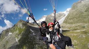 Paragliding-Brig-Glis-Tandem paragliding in Fiesch over the Aletsch Glacier-3