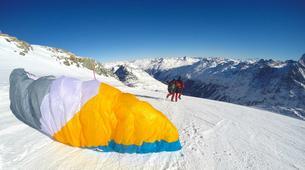 Paragliding-Ticino-Tandem paragliding from Monte Tamaro in Ticino-2